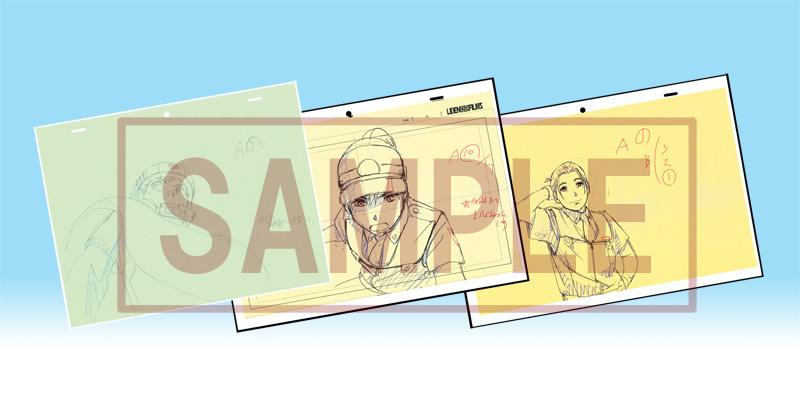 ▲アニメーションキャラクターデザイン・作画監督 浅野直之 修正作画集(B5サイズ・48P)
